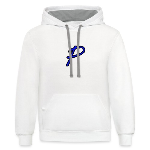 P for ptolome - Unisex Contrast Hoodie