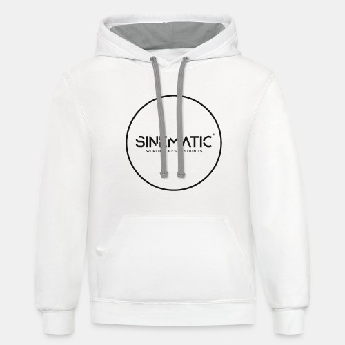 Logo Sinematic - Unisex Contrast Hoodie