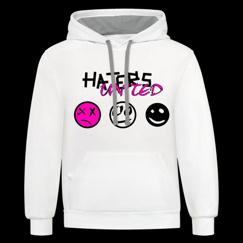 Haters United (Onision) - Unisex Contrast Hoodie