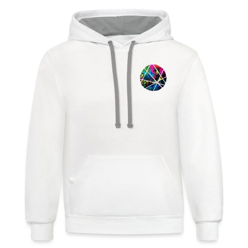 Erbun Designs Splat 🔥 - Unisex Contrast Hoodie