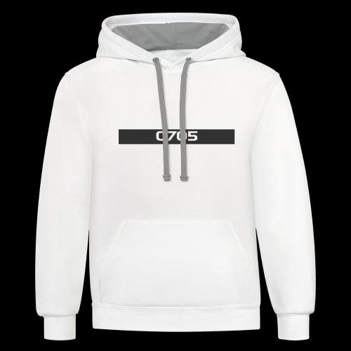 TeamTSC 01b - Contrast Hoodie