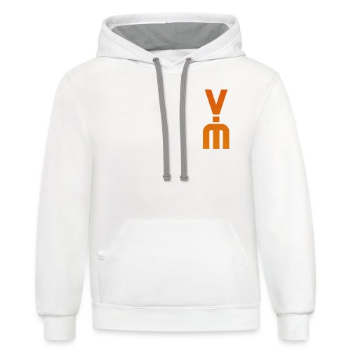 The White Vimster - Unisex Contrast Hoodie