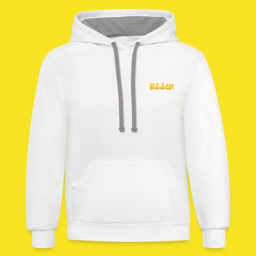 YLLW CLASSIC - Contrast Hoodie