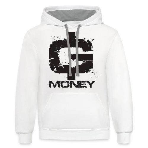 G money. - Contrast Hoodie
