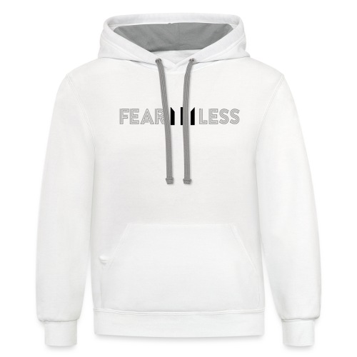 FEARLESS - Contrast Hoodie