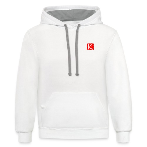 ChineseKuang Icon - Contrast Hoodie