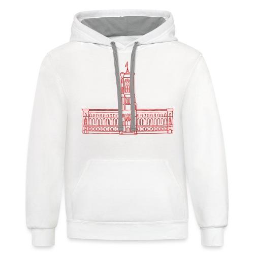 Red City Hall Berlin - Contrast Hoodie
