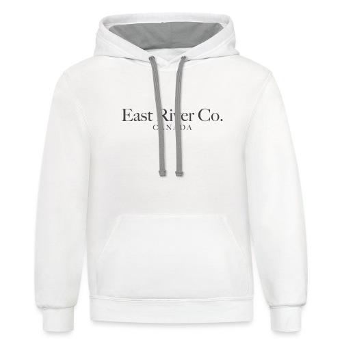 EastRiverCo Canada - Unisex Contrast Hoodie
