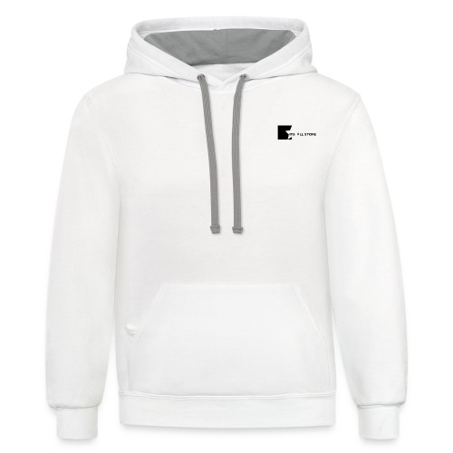 Its All Store logo - Unisex Contrast Hoodie