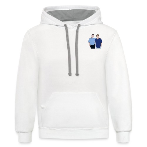 Tim and Ted - Unisex Contrast Hoodie