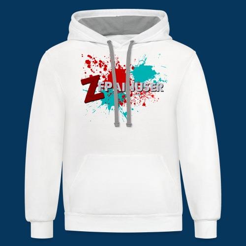 zfpshirtV2 - Contrast Hoodie