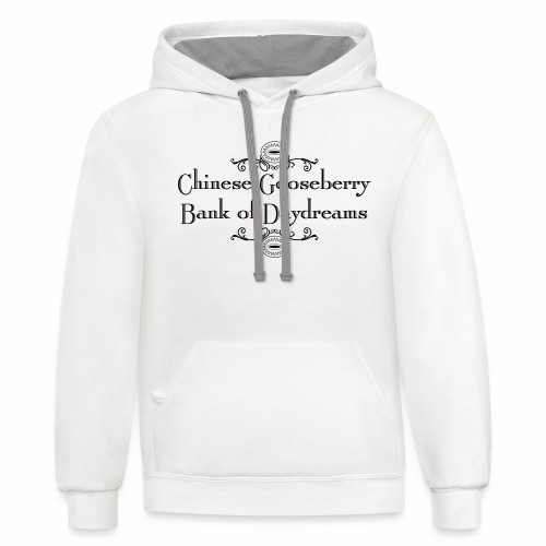 Chinese Gosseberry Bank of Daydreams - Contrast Hoodie
