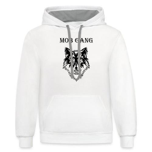 wolf - Contrast Hoodie