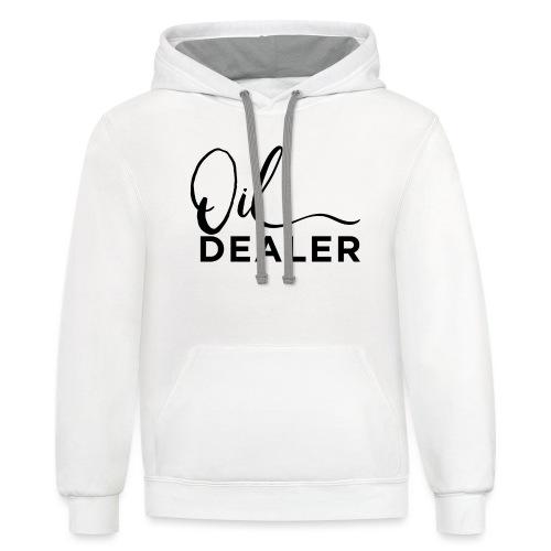 Oil Dealer - Contrast Hoodie