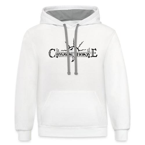 Chiwawausmokwe - 7thGen - Contrast Hoodie