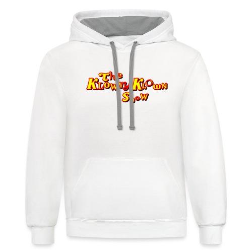 The Klowny Klown Show Logo - Contrast Hoodie