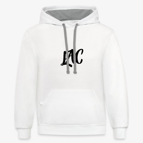 LAC Clan Official Merch - Unisex Contrast Hoodie