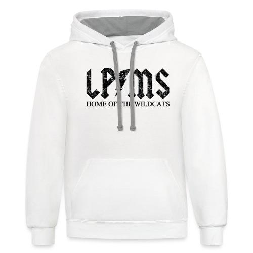 LPMS Voltage Distressed - Contrast Hoodie