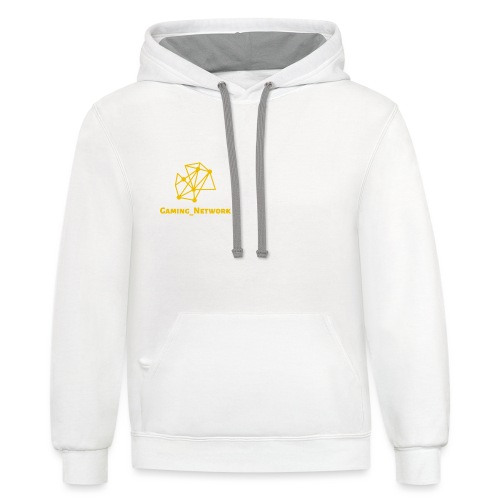 gaming network gold - Contrast Hoodie