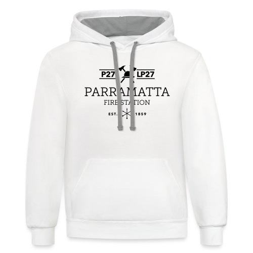 Parramatta Fire Station B - Contrast Hoodie