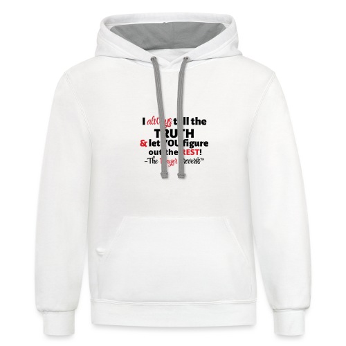 Player Proverbs - Unisex Contrast Hoodie