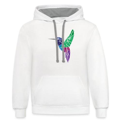 Hummingbird - Contrast Hoodie
