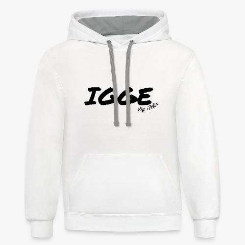 IGGE by Felix - Contrast Hoodie