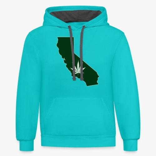 weed - Contrast Hoodie