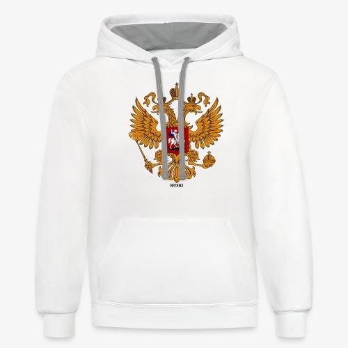 RUSKI - Unisex Contrast Hoodie