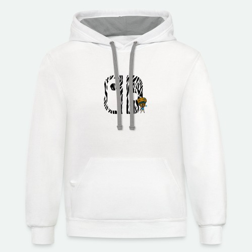 Switch Nation | Zebra Nation - Contrast Hoodie