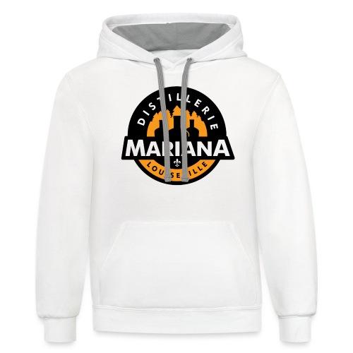 Distillerie Mariana T-Shirt fille - Contrast Hoodie