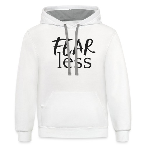 FEARless for BossLady - Contrast Hoodie