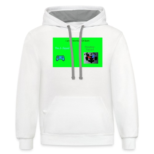 Shadow and J_Squad Shirt - Unisex Contrast Hoodie