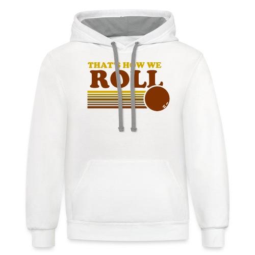 we_roll - Contrast Hoodie