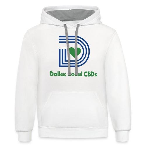 Dallas Local CBDs - Contrast Hoodie