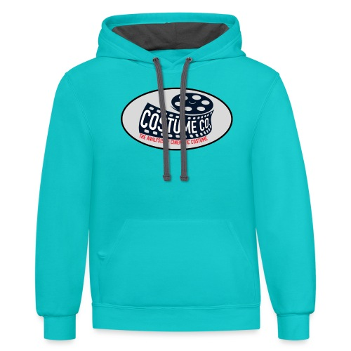 Costume CO Logo - Contrast Hoodie