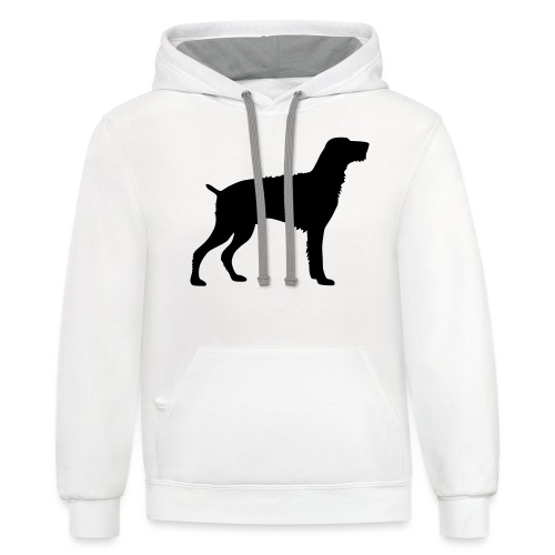 German Wirehaired Pointer - Contrast Hoodie