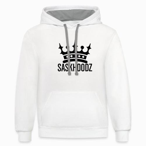 king saskhoodz - Unisex Contrast Hoodie