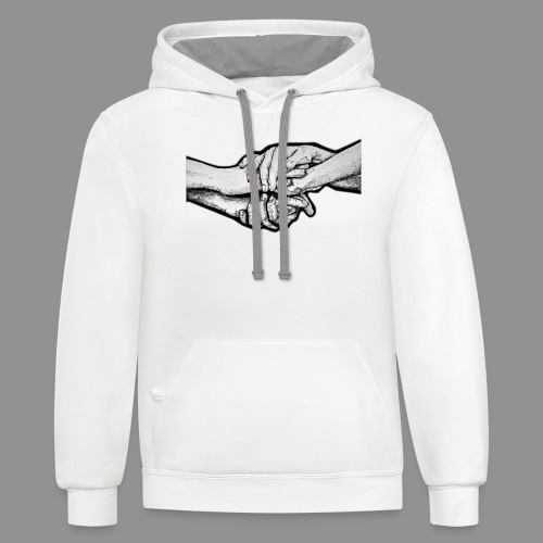 The Strength of Their Resolve - Unisex Contrast Hoodie