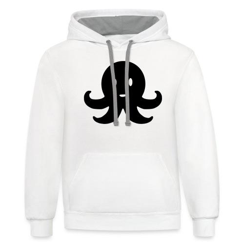 Cute Octopus - Unisex Contrast Hoodie