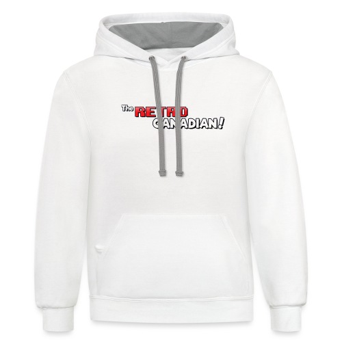 TheRetroCanadian Official Tee Shirt - Contrast Hoodie