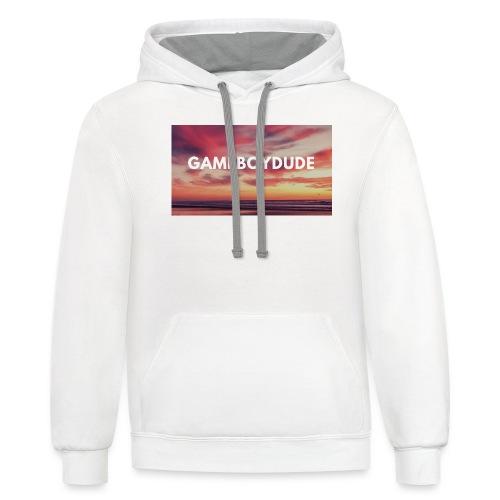 GameBoyDude merch store - Contrast Hoodie