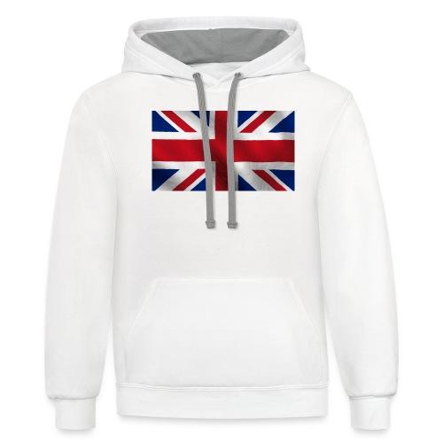 British Flag - Contrast Hoodie