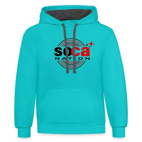 Soca Junction - Contrast Hoodie