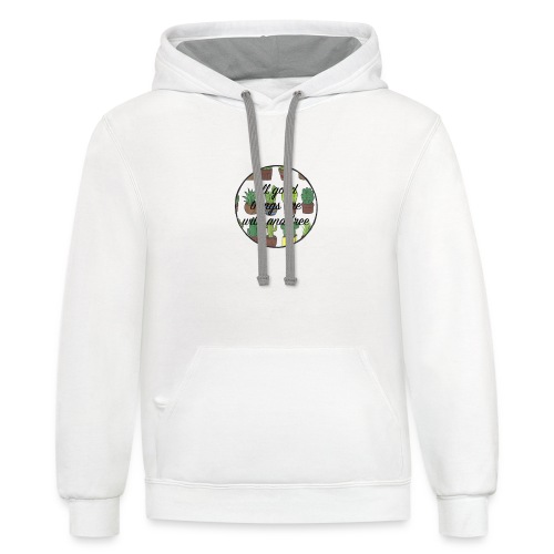 all good things are wild and free - Contrast Hoodie