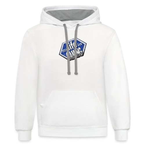 My Life In Gaming sticker - Contrast Hoodie