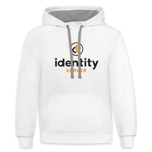 Idenity Server Mug - Unisex Contrast Hoodie