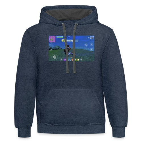 My First Win! - Contrast Hoodie