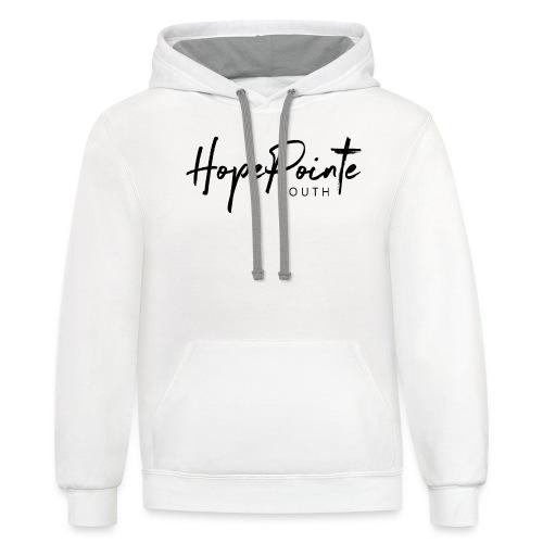 Logoblack - Contrast Hoodie
