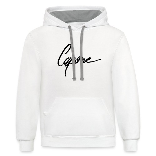 Capone - Contrast Hoodie